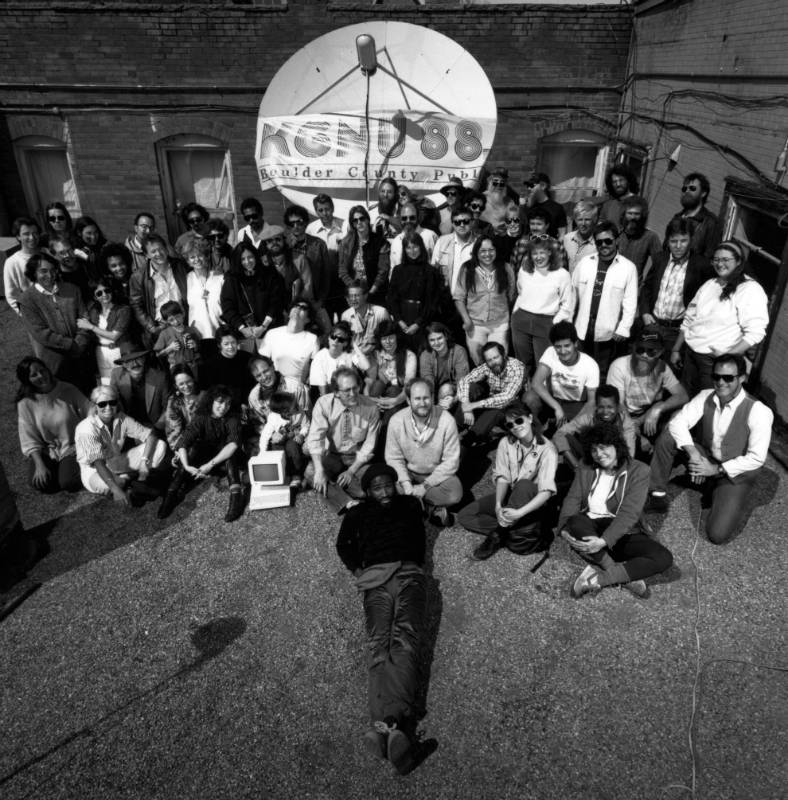 KGNU Group Photo 1981