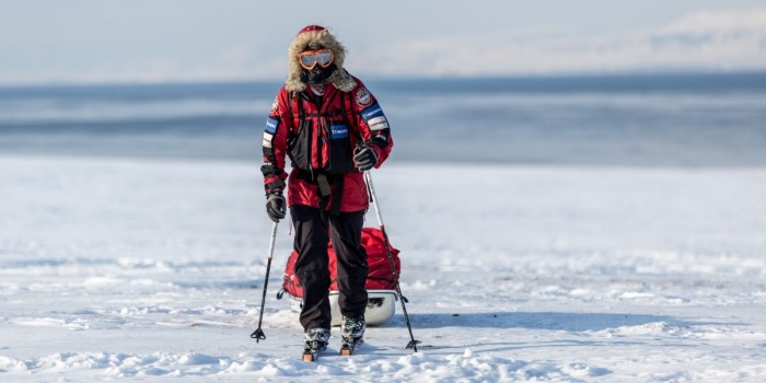 Polar explorer: Eric Larsen
