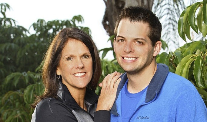 Denver Pridefest 2014 Grand Marshals: Luke Adams and his mother, Margie O'Donnell