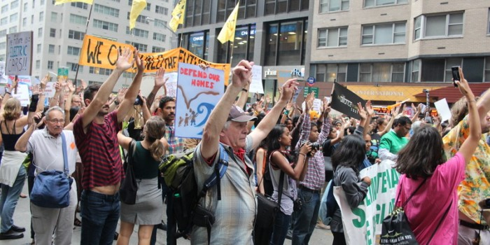 Coloradoans at the NY Climate March