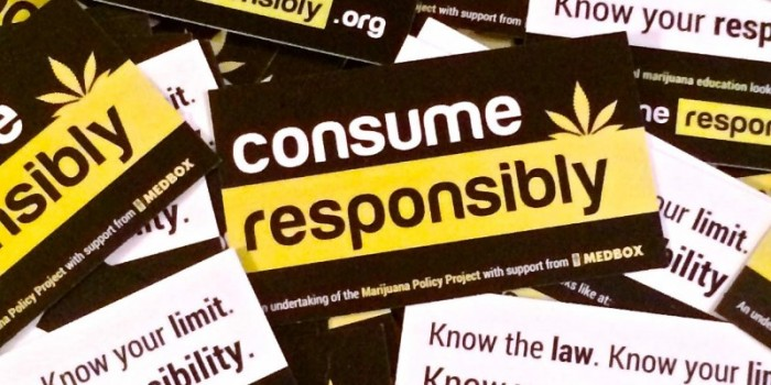 Weed Between the Lines: Consume Responsibly Campaign