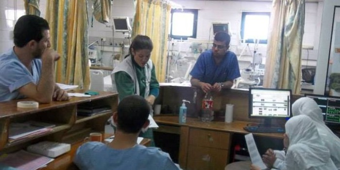 Sarah Woznick: Doctors Without Borders in Gaza