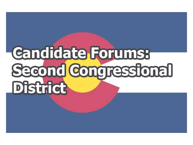 Capitol Coverage: Second Congressional District Debate