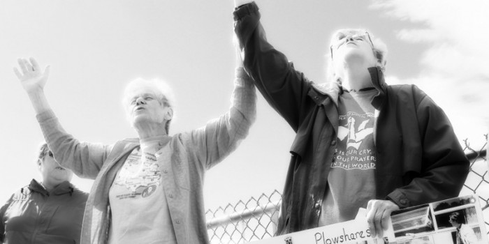 Plowshares Nuns Return to the Site of Missile Silo Action Twelve Years Later