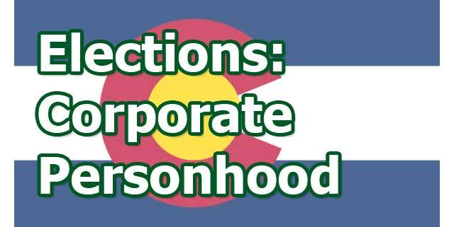 David Cobb: Corporate Personhood and Democracy