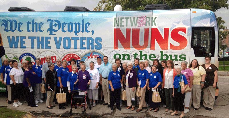 Nuns on the Bus Tour to Stop in Boulder