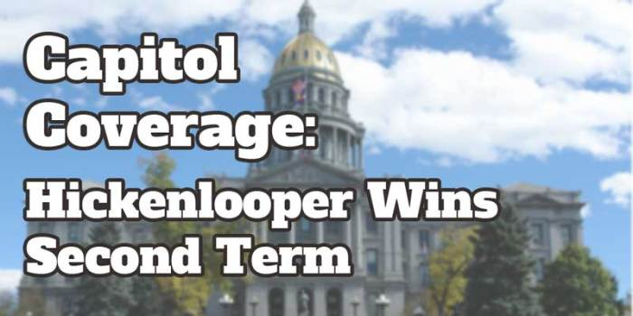 Capitol Coverage: Gov Hickenlooper narrowly re-elected