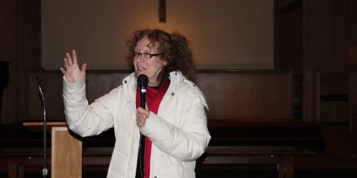 Peace Activist Kathy Kelly Speaks in Denver