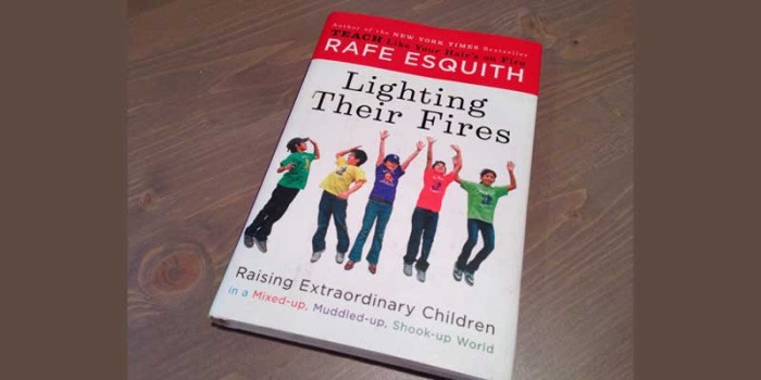 "Booktalk: Teacher Rafe Esquith, author of ""Lighting Their Fires"""
