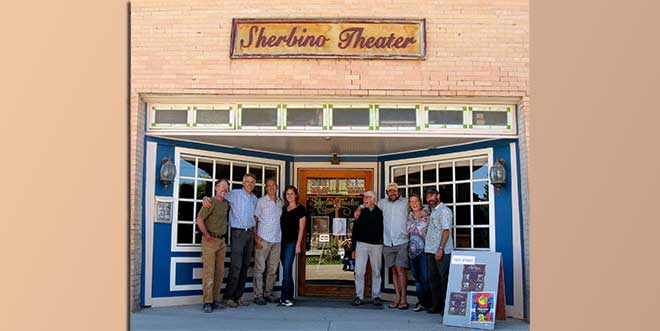 Sherbino Theater in Ridgeway, Colorado Celebrates Centennial