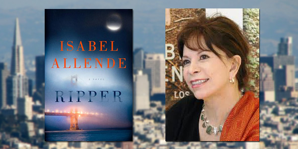 "Booktalk: Isabel Allende and her first crime novel, ""Ripper"""