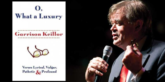 Author Garrison Keillor, citizen of Lake Wobegon