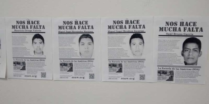 Where are the missing 43 Mexican students?