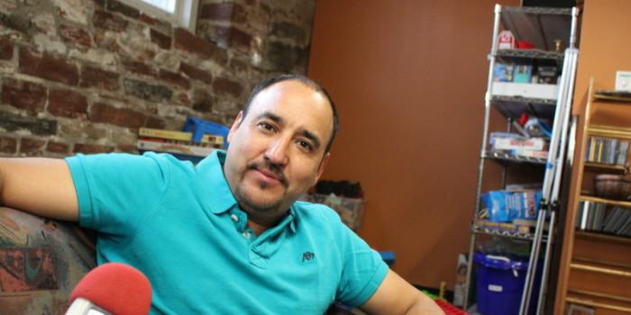 Arturo Hernandez Garcia Speaks to KGNU from Sanctuary