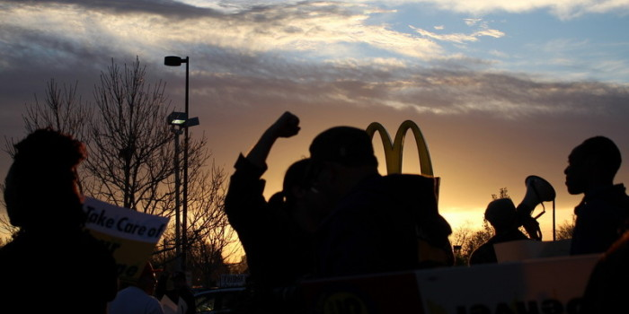 "Fast Food Workers Strike in Denver, Kicking off ""Fight for 15"" Nationwide Events"