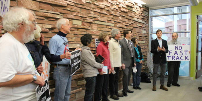 Local Leaders Urge Congressman Polis to Reject Fast Track and the TPP