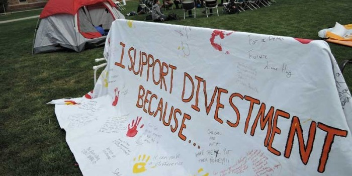 Divesting from Fossil Fuels