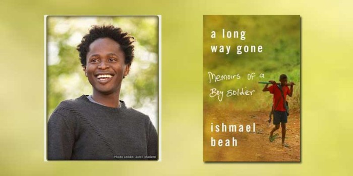 "Booktalk: Boy Soldier Ishmael Beah with ""A Long Way Gone"""