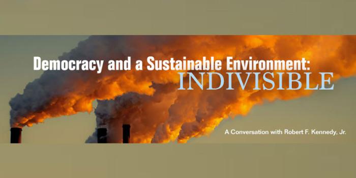 Robert F. Kennedy Jr. on environmental activism