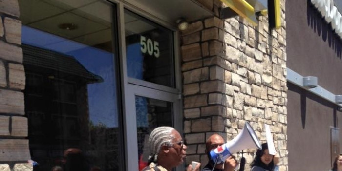 Free Alabama Movement Organizes National Action Against McDonald's
