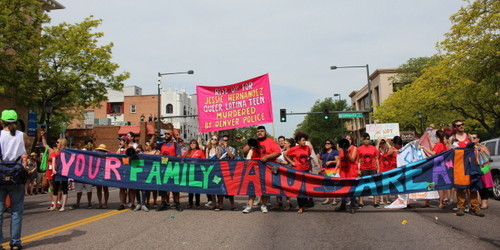Queer Youth of Color Block Pride Parade: Demand Pride Returns to its Roots