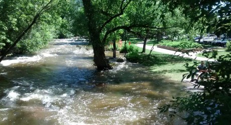 High Water Levels in Front Range Rivers Mean Dangerous Conditions