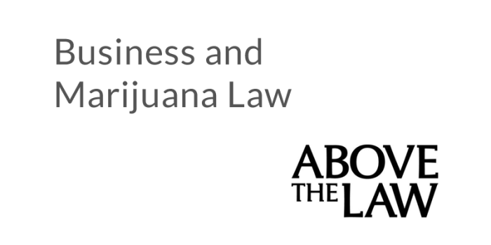 Marijuana Law: Underrepresented and Undereducated