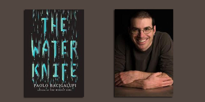 "Booktalk: Science fiction writer Paolo Bacigalupi and ""The Water Knife"""