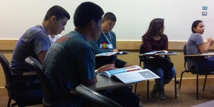 Instilling cultural pride in Chicano and Latino students from around Colorado