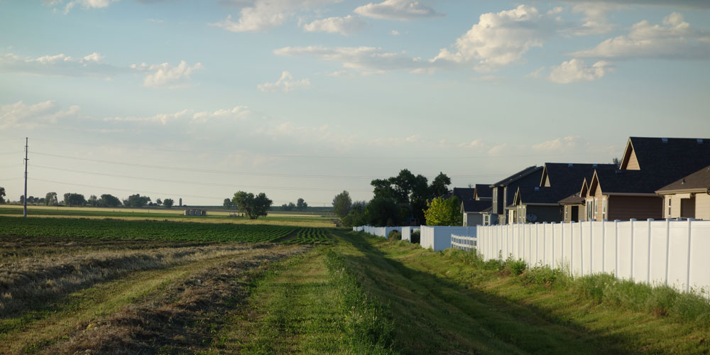 Connecting The Drops: Urbanization of Agricultural Lands