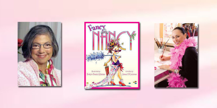 "Booktalk: ""Fancy Nancy"" children's books- Robin Preiss Glasser & Jane O'Connor"