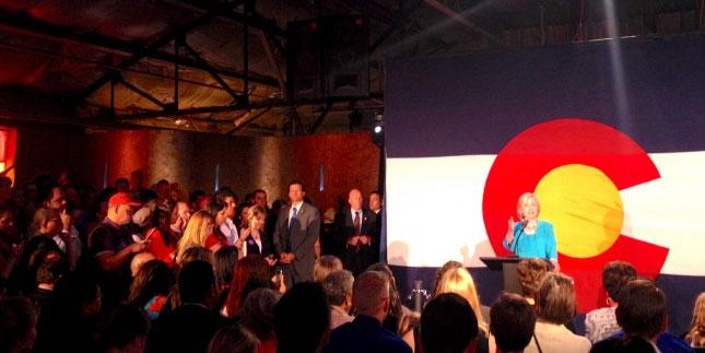 Hillary Clinton Visits Colorado