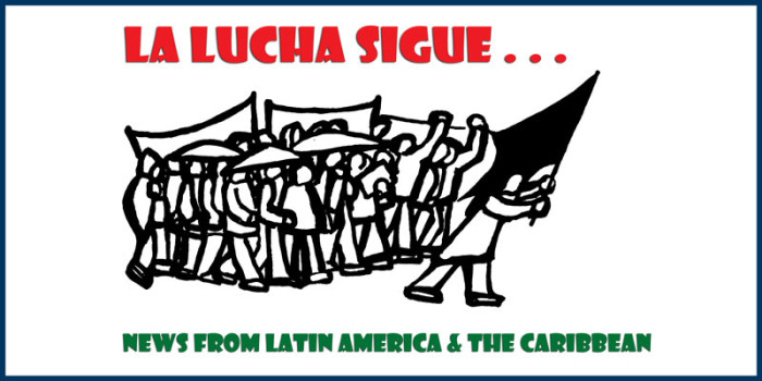 La Lucha Sigue: Jan 04, 2016