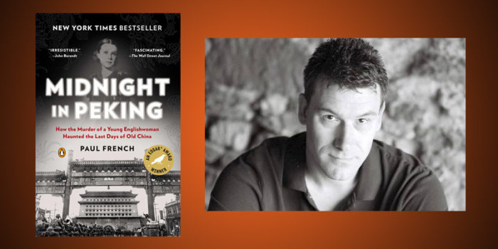 "Booktalk: Author Paul French and ""Midnight in Peking"""