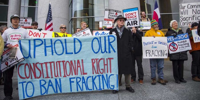 Colorado State Supreme Court Holds Hearings on Fracking Rights