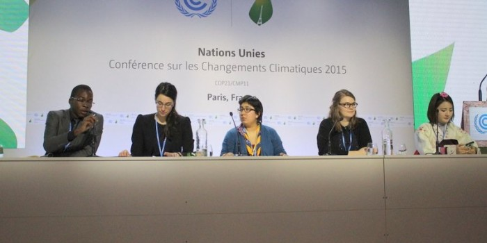 COP21 Paris:  Youth Contingency Lays Out Expectations for a Climate Agreement; Action Aid Representative Outlines Urgency for Asian Countries; US Cancels Another Press Conference