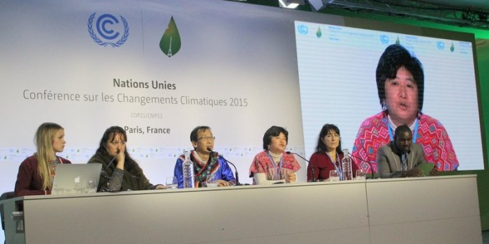 "COP21 Paris:  ""People aren't making the right decisions at this meeting"""