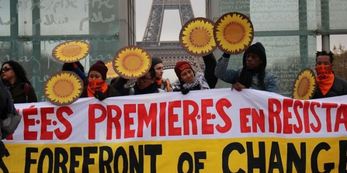 COP21 Paris:  Human Rights Day-It Takes Roots to Weather the Storm