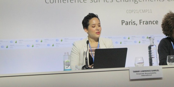 COP21 Paris:  Corporate Watchdogs Want Big Polluters out of Climate Talks