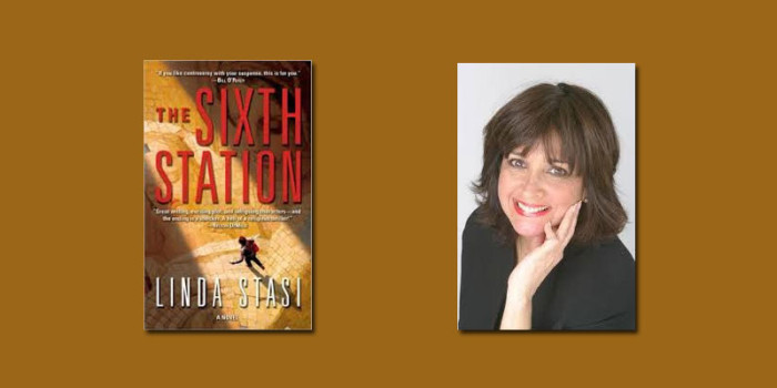 "Booktalk:  Thriller writer & NY Daily News columnist Linda Stasi and ""The Sixth Station"""