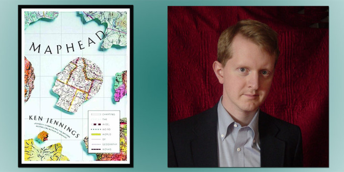 "Booktalk:  Ken Jennings, author of ""Maphead"""