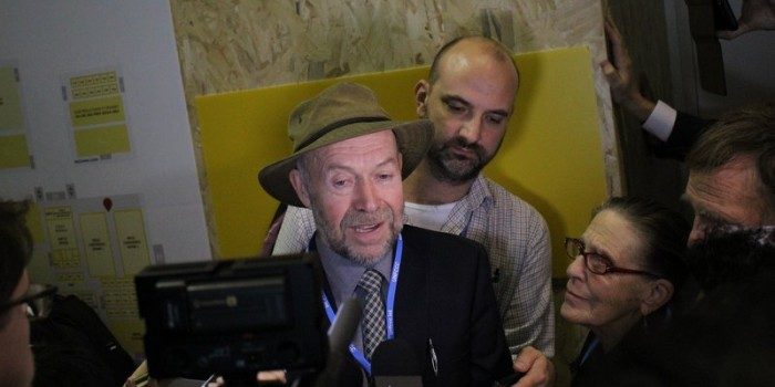 "COP21 Paris:  Climate Scientist James Hansen:  ""The Planet is out of Balance"""