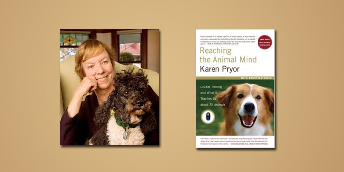 "Booktalk:  Behavioral biologist Karen Pryor – ""Reaching the Animal Mind"""