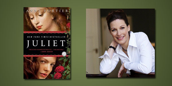 "Booktalk: Danish author Anne Fortier and ""Juliet"""
