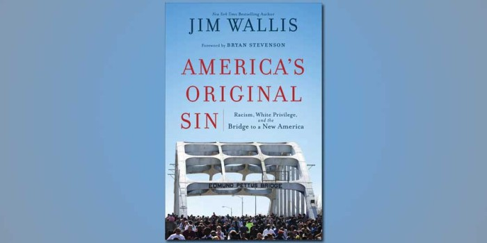 America's Original Sin: Racism, White Privilege and the Bridge to a New America.