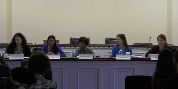 Daughter of Assassinated Activist Berta Caceres Testifies at Congressional Hearing