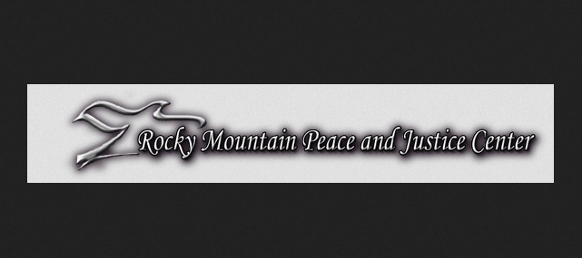 Dot Org: Rocky Mountain Peace and Justice Center