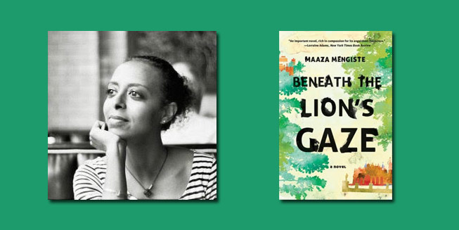 "Booktalk: Ethiopian-American Maaza Mengiste speaks of ""Beneath the Lion's Gaze"""