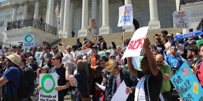 Democracy Spring Events Continue in DC