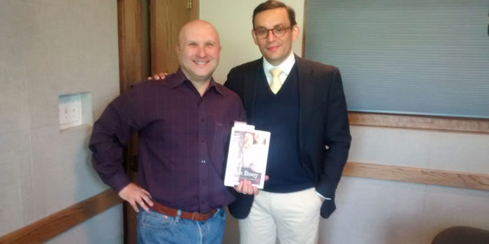 "Radio Book Club: ""Father's Day"" Author Simon Van Booy"